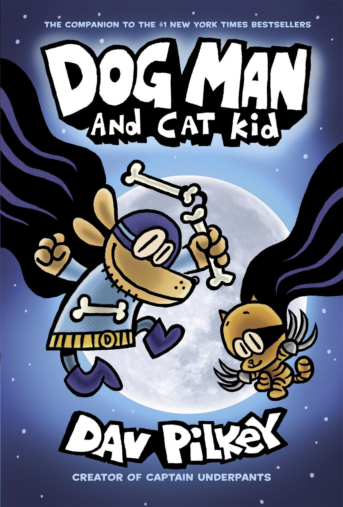 dfd8a3dc15b DOG MAN#4: DOG MAN AND CAT KID