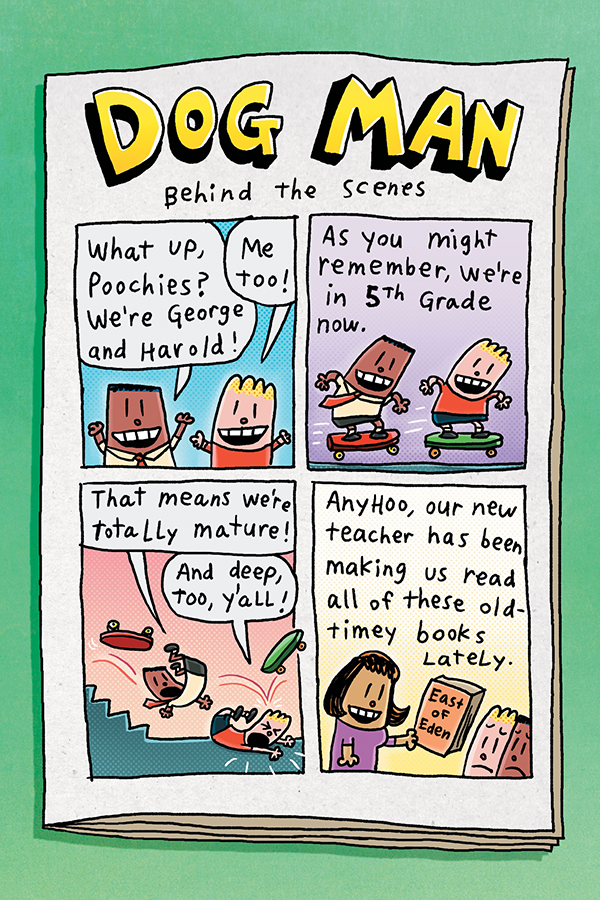 The Adventures Of Captain Underpants Book 1