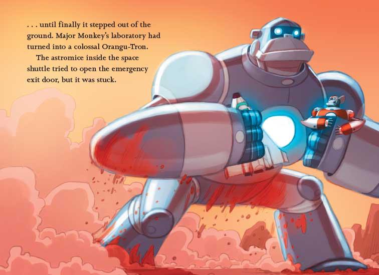Ricky Ricotta S Mighty Robot Vs The Mecha Monkeys From Mars