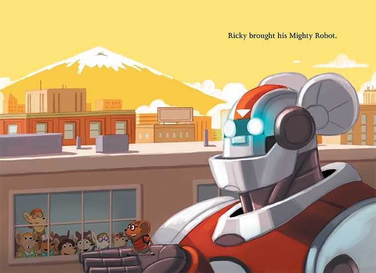 Ricky Ricotta S Mighty Robot